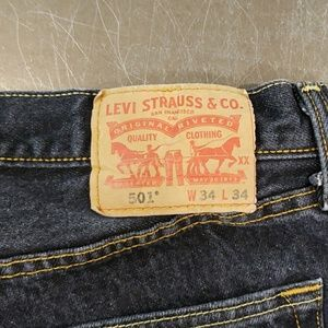 Levi's 501s w34 l34